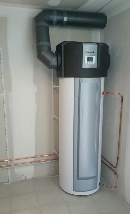 Installation de chauffe eau thermodynamique- Poullain SEPI à Lisieux
